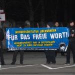 Die abendliche Neonazi-Kundgebung gegenüber dem österreichischen Konsulat, Teil 3. Foto: Robert Andreasch