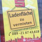 Rassistische Schmiererei in der Trappentreustraße, Teil 1. Foto: a.i.d.a.