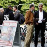Wahlplakat für Karl Richter. Foto: Tim Karlson
