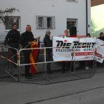 6. Kundgebung Wohlfahrtstraße/Ecke Reischlweg. Foto: Robert Andreasch