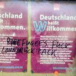 27. März 2017 - Rassistische Schmiererei an SPD-Schaukasten