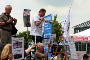 6. Juli 2013 - DF - Kundgebung