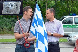 9. August 2014 - Bürgerinitiative Ausländerstopp - Kundgebungen gegen Geflüchtete