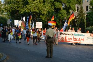 6. Juli 2015 - PEGIDA - Demonstration