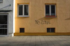 21. November 2015 - Neonazistisches Graffito