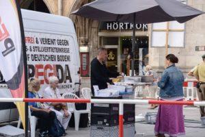 'PEGIDA-München'-Chef Heinz Meyer. Foto: a.i.d.a.
